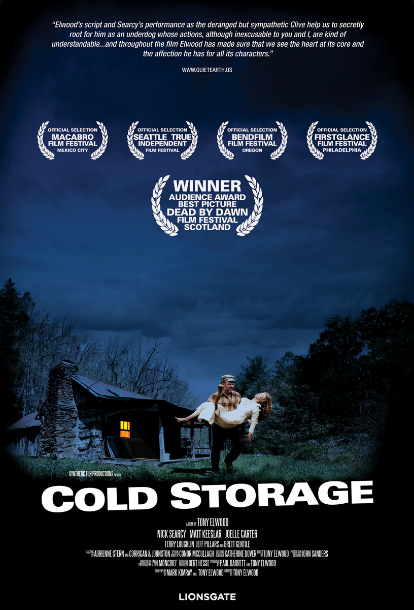 Cold Storage, Tony Elwood, Nick Searcy, Joelle Carter, Matt Keeslar, Terry Loughlin, Jeffery Pillars, Brett Gentile, Conor McCullagh, drama, horror, thriller