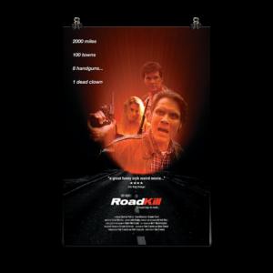 Roadkill Poster, Tony Elwood's RoadKill, Roadkill, Killer, Tony Elwood, Horror Movie Poster, 80's Horror, Thrillers, action movies