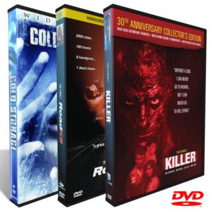 SansPerf DVDs, Killer DVD, Roadkill DVD, Tony Elwood's Killer, Tony Elwood's Roadkill, Cold Storage, Tony Elwood's Cold Storage, Nick Searcy, Joelle Carter, Matt Keeslar