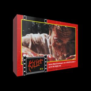 Tony Elwood's Killer, Killer Trading Cards, Killer Collector Cards, Tony Elwood, Horror, Serial Killer Movies, Low Budget Films, Independent movies