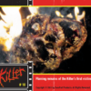 Trading Cards, Killer trading cards, Killer collector cards, Tony Elwood's Killer, Tony Elwood, Horror, Serial Killer Movies, Low Budget Films, Independent movies